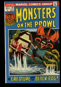 Monsters on the Prowl #19 NM- 9.2