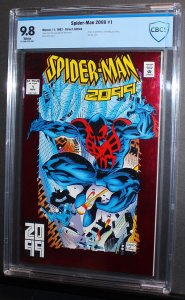 Spider-Man 2099 #1  /  CBCS 9.8 NM-MT  /  Miguel O' Hara Origin  1992