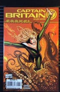 Captain Britain and MI:13 Annual #1 (2009)