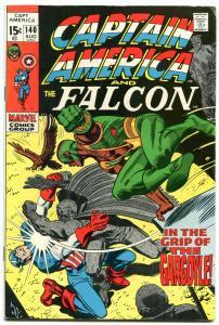 CAPTAIN AMERICA AND THE FALCON #140 1971 GARGOYLE ORIGIN FN+