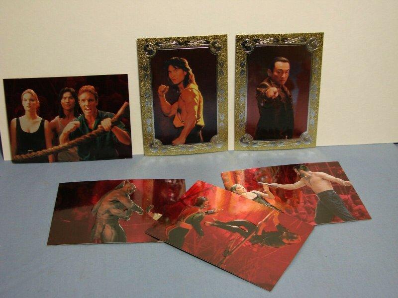 1995 SKYBOX MORTAL KOMBAT TRADING CARDS 1-90 W/ Some inserts Rare L@@K!!