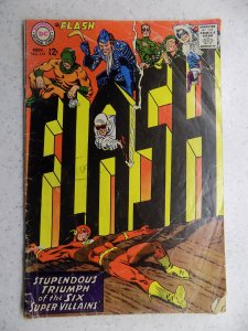 FLASH # 174 DC SILVER ACTION ADVENTURE