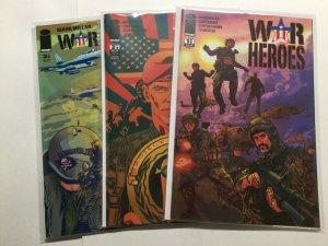 War Heroes 1 2 3 Lot Set Run Near Mint Nm Image