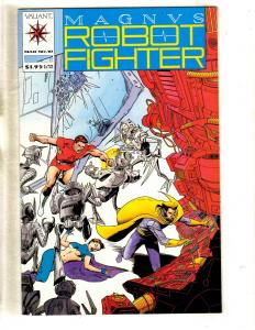 Magnus Robot Fighter # 10 NM Valiant Comic Book Rai Bloodshot Unity MR6