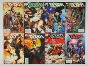 New Exiles #1-18 VF/NM complete series + annual - christ claremont - set lot