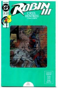 Robin III #6 Variant Cvr (DC, 1993) VF