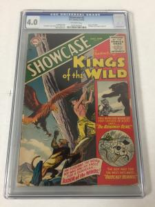 Showcase 2 Cgc 4.0 Ow Pages