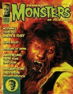 Famous Monsters of Filmland #259 2012 Horror Baker And Elsey Silver Bullet