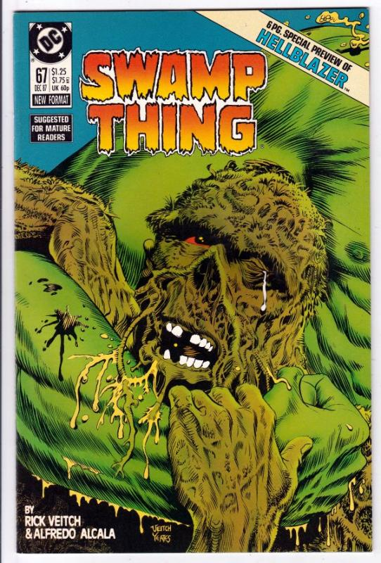 Swamp Thing #67 (Dec-87) NM/MT Super-High-Grade Swamp Thing