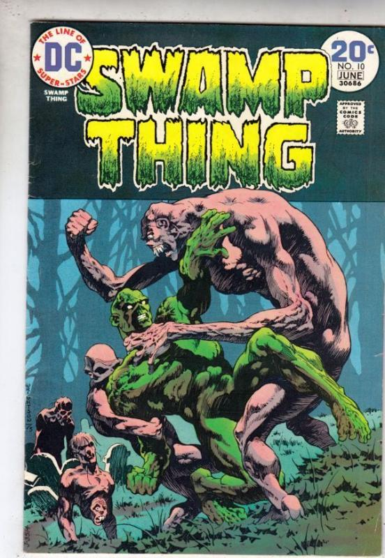 Swamp Thing 10 strict VF/NM 9.0 High-Grade      more@Kermitspad!