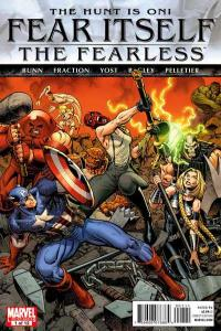 Fear Itself: The Fearless #1, NM (Stock photo)