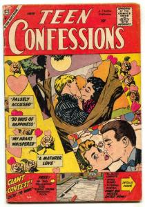 Teen Confessions #1 1959- Charlton Romance 1st issue G/VG