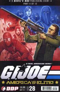G.I. Joe Comic Book (Vol. 2) #28 VF/NM; Devil's Due | save on shipping - details