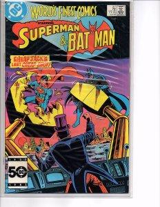 DC Comics World's Finest Comics #317 VF+ Larry Stroman Art