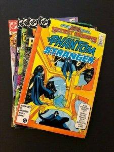 SET of 5-DC SECRET ORIGINS#10-14 Phantom Stranger, Suicide Squad,Fury F/VF(A123)