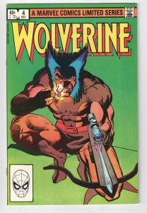 WOLVERINE MINI series 4 VF/NM 9.0;BIG SALE ON EVERYTHING ENDS SOON!
