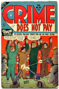 Crime Does Not Pay #107 1952- Golden Age VG-