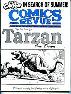Comics Revue #102 1994-Spider-man-Modesty Blaise-Tarzan-Russ Manning-VF