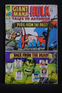 Tales to Astonish #68, Giant-Man, Hulk, Kirby Art, LBJ cameo, 6.0