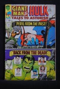 Tales to Astonish #68, Giant-Man, Hulk, Kirby Art, LBJ cameo, 6.0