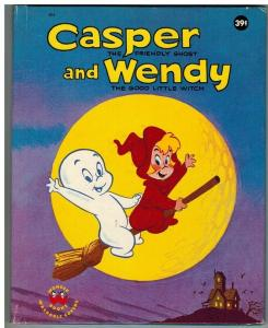 CASPER & WENDY (1963) WONDER BOOK #805 FN+ ( 0.39 CVRPR