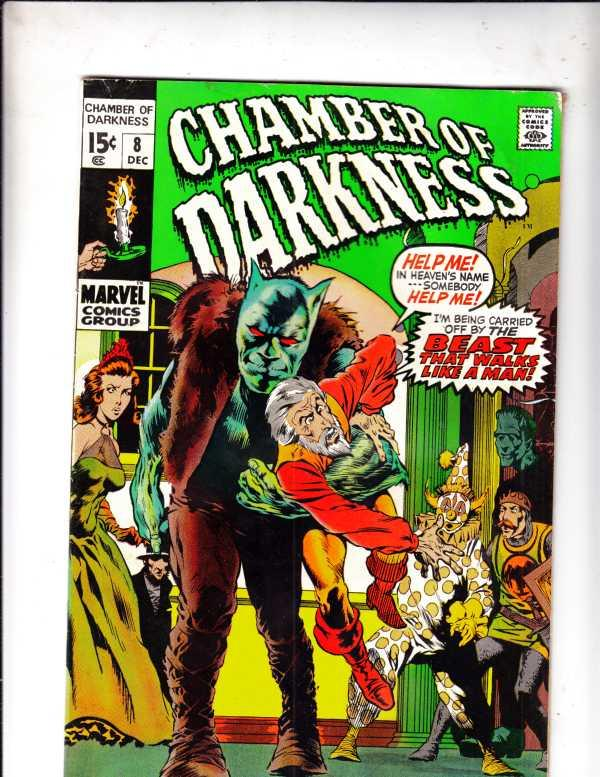 Chamber of Darkness #8 (Dec-70) VG Affordable-Grade