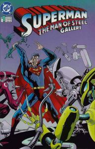SUPERMAN MAN OF STEEL GALLERY (1995) 1 (3.50 CVR) VF-NM COMICS BOOK
