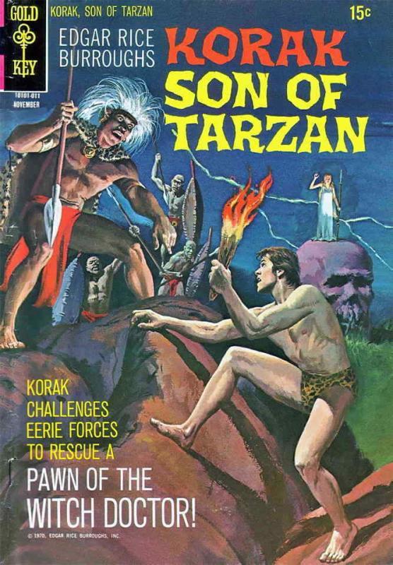 Korak, Son of Tarzan #38 FN; DC | save on shipping - details inside