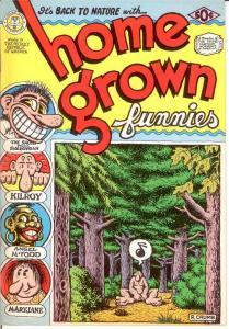 HOME GROWN FUNNIES (1971-1998 KS) 1 (2ND) Crumb  VF COMICS BOOK
