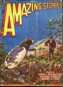 Amazing Stories 6/1929-Gernsback-early sci-fi pulp-Frank R Paul