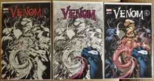 Venom #6 variant, sketch and color wash EXCLUSIVEs from Scorpion Comics