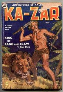 Ka-Zar Pulp #1 1936- 1st Marvel Comics hero publication- G