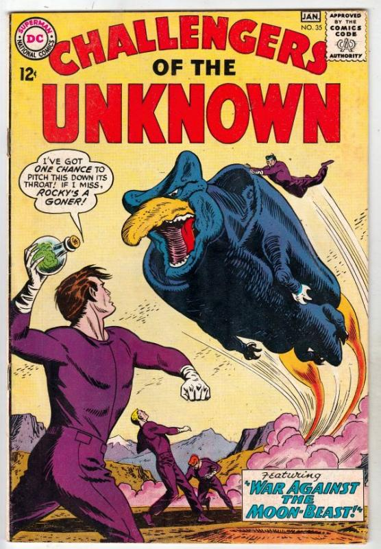 Challengers of the Unknown #35 (Jan-64) VF/NM High-Grade Challengers of the U...