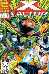 X-Factor (1986 series) Annual #8, NM- (Stock photo)