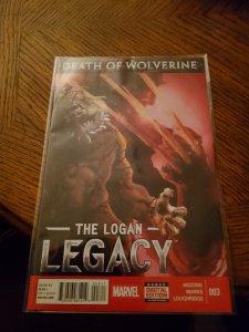 Death of Wolverine: The Logan Legacy #3 (2014)