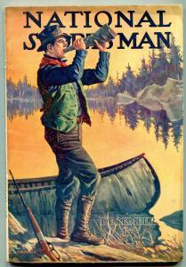 National Sportsman Pulp December 1916- rare FN