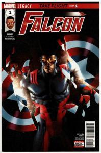 Falcon #1 Captain America (Marvel, 2017) VF/NM