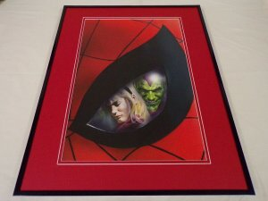 Marvels #4 Spider-Man Green Goblin Gwen Stacy Framed 16x20 Cover Poster Display