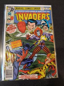 THE INVADERS #34 BRONZE AGE HIGH GRADE VF/NM