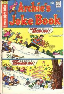 ARCHIES JOKE BOOK (1954-1982)195 VG-F April 1974 COMICS BOOK