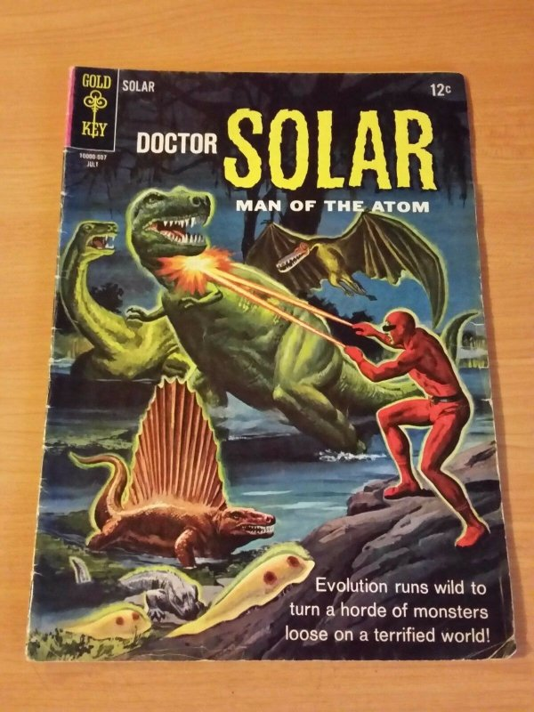 Doctor Solar, Man of the Atom #13 ~ VERY GOOD VG ~ (1965, Gold Key Comics)