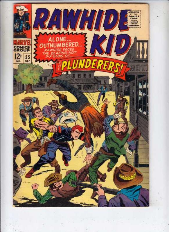 Rawhide Kid #55 (Dec-66) VF/NM High-Grade Rawhide Kid