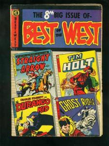 BEST OF THE WEST #8 1953-GHOST RIDER-DURANGO-TIM HOLT--very good VG