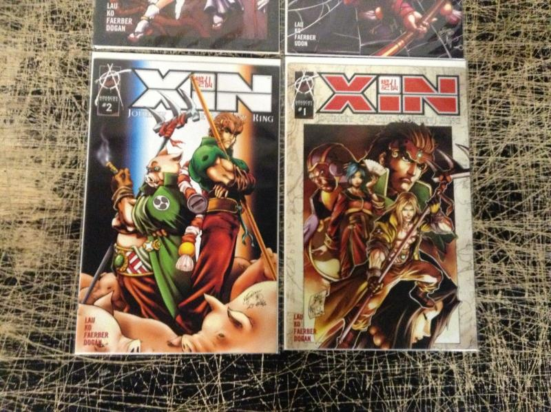 Lot Of 4 XIN Journey Of The Monkey King Anarchy Studios Comic Books # 1 2 3 A24