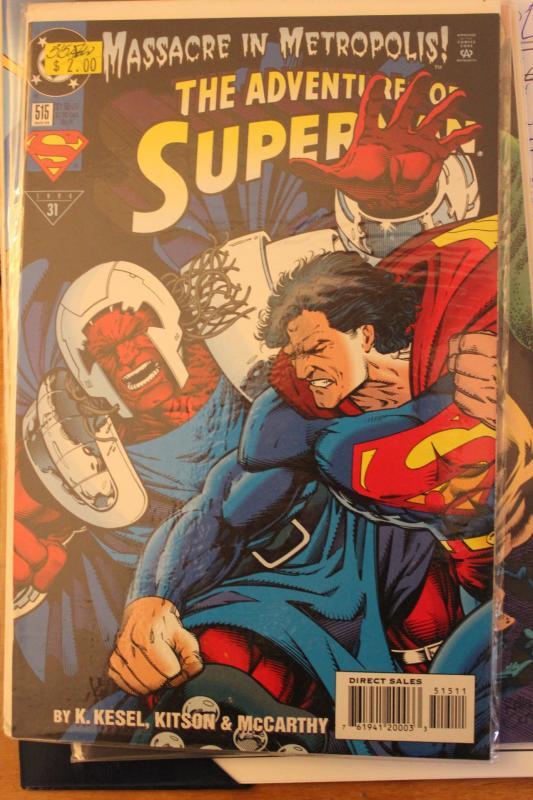 Adventures of Superman 515 9-4-nm
