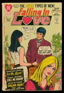 FALLING IN LOVE #132 1972-DC ROMANCE COMIC-GIANT ISSUE G/VG