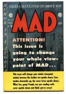 MAD #17 1954-EC-Wally Wood-Will Elder-Julius Carsar-Jack Davis-VF