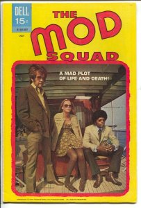 Mod Squad #6 1970-Dell-Peggy Lipton-Michael Cole TV series photo cover-VF