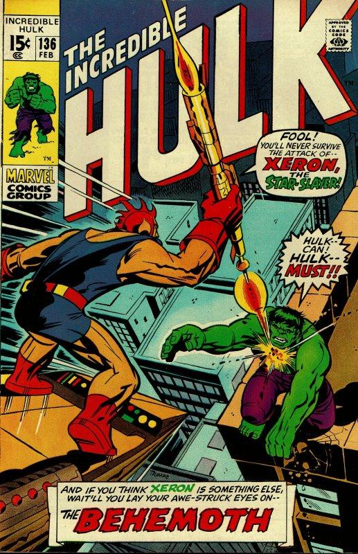 Incredible Hulk #136 - FINE - Sal Buscema Art / HipComic