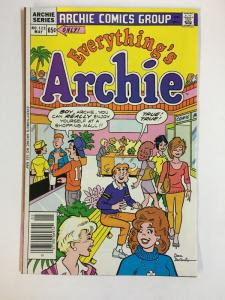 EVERYTHINGS ARCHIE (1969-1991)123 VF-NM May 1986 COMICS BOOK